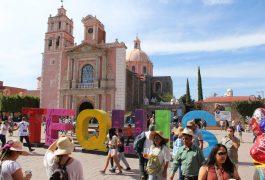 SOLO carteristas y cristalazos en fines de semana de vacaciones en Tequisquiapan