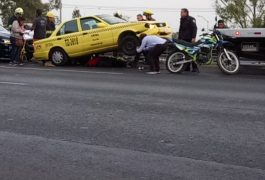 FUE en la 57, entre la avenida Pasteur y Corregidora en donde ocurrió el accidente.