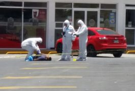 HOMBRE fue asesinado en una gasolinera de San Juan del Río.