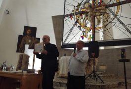 El padre Christopher Hartley ofreció una conferencia en el Templo Expiatorio del Sagrado Corazón de Jesús.