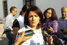 Oriana López Castillo, secretaria de Obras Públicas municipales.