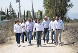 El alcalde Roberto Sosa hizo un recorrido por las obras pluviales que se ejecutan