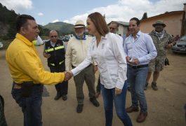 Unidos en combate al incendio de la Sierra: Francisco Domínguez