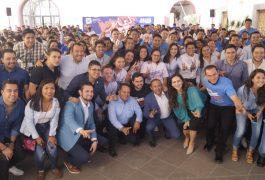 Más de 400 jóvenes panistas participaron en el Encuentro Estatal de Acción Juvenil