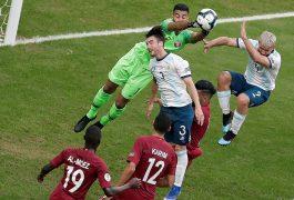 Argentina pasó a cuartos en la Copa América