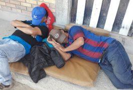 IGLESIA de San José Obrero, durante años ha apoyado a los migrantes