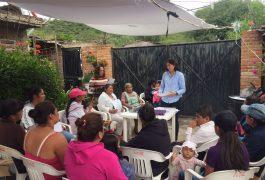 """Apoyan economía de las familias con """"Huertos de Traspatio"""""""
