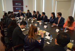 Durante la reunión se expusieron las oportunidades económicas en el estado.