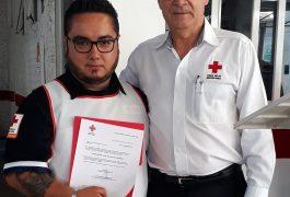 Coordinador de Socorros en SJR, Luis Carlos Benítez Castillo, y presidente del Consejo Directivo de SJR, Eugenio Demeneghi Zilly