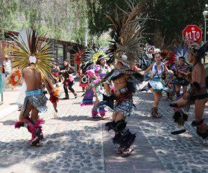 Guerreros Aztecas, danzar con el alma y corazón para alabar a Dios