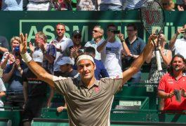 Roger Federer campeón en Halle