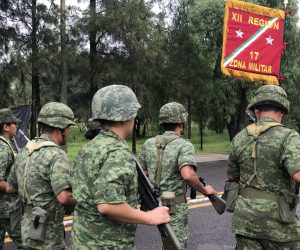 General de Brigada Nicolás Camacho Comandante de la 17/a Zona Militar