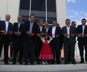 Inaugura Solgistika nueva nave industrial en Colón