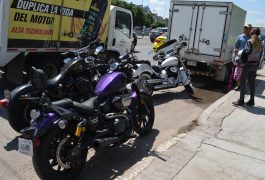Siguen accidentes de motociclistas