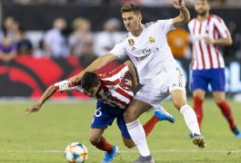 Atlético de Madrid golea a Real Madrid