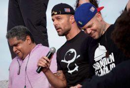 Ricky Martin aplaude renuncia de Rosselló