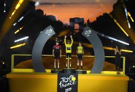 Colombiano deja historia en el Tour de Francia