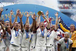 EU conquistó el título del Mundial Femenil.
