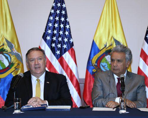 """""""Inconcebible"""" tener elecciones justas con Maduro en Venezuela: Pompeo"""