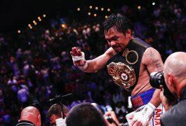 Ganó Manny Pacquiao