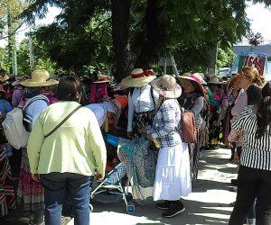 Partieron las mujeres Rumbo al Tepeyac