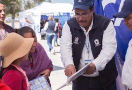 Rebasa gobierno meta anual de atención en Jornadas En Tu Calle