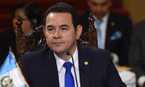 """Guatemala aún no acepta ser un """"tercer país seguro"""": Jimmy Morales"""