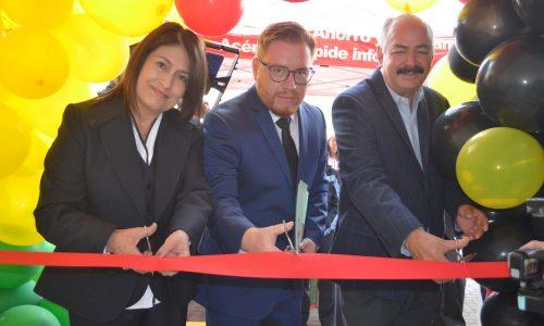 Florencio Rosas inaugura su oficina en San Juan del Río