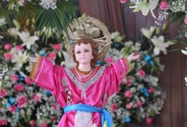 Celebran al Divino Niño en San José Obrero