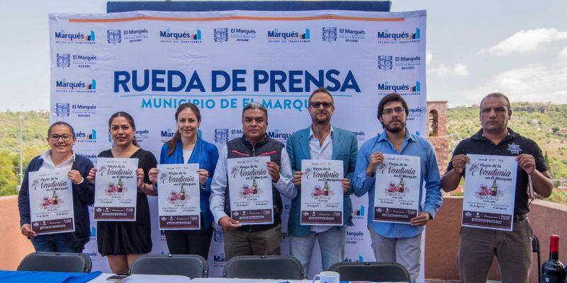 Presentan la Fiesta de la Vendimia en El Marqués