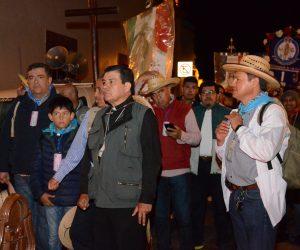 Salieron de Pedro Escobedo 18 mil peregrinos al Tepeyac