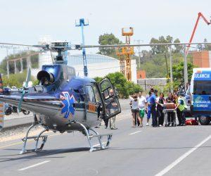 Volcadura en El Coyme deja 5 lesionados un menor grave