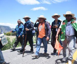Peregrinación por un México unido: Faustino