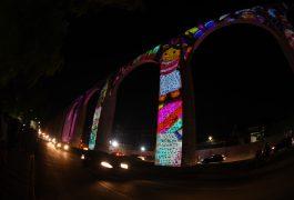 VIDEOMAPPING DE LELE EN LOS ARCOS