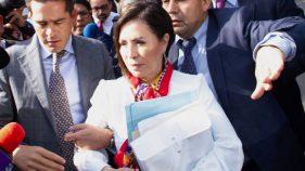 Defienden actuación de juez en el caso de Rosario Robles