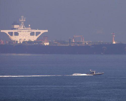 EU ordena captura e incautación del petrolero iraní liberado por Gibraltar