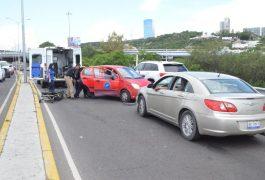 Un lesionado y un detenido en choque