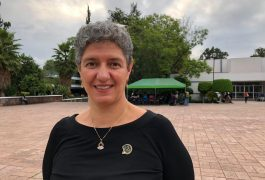 La marcha estudiantil de hoy no está politizada: Teresa García