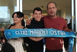 Lozano ya está en Italia