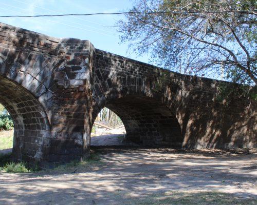 Vialidad del Puente de la Historia con un avance del 70%