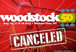 Cancelan Woodstock 50