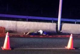 Un hombre fue embestido anoche en la carretera San Juan del Río-Xilitla