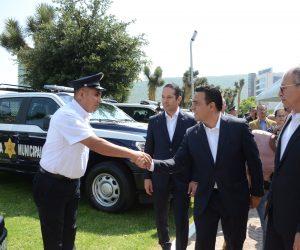 Equipan policía municipal invierten más de 40 MDP