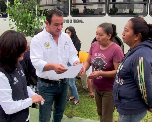 "Obra social por 750 MDP con ""Alcalde en tu calle"""